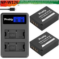 Batteries, npw126, npw126sbatterycharger, kamerabatteri