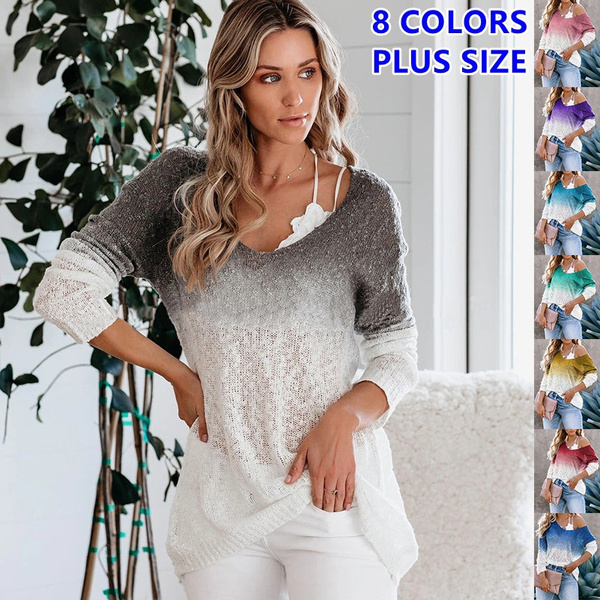 blouse, Plus Size, Sleeve, loose shirt