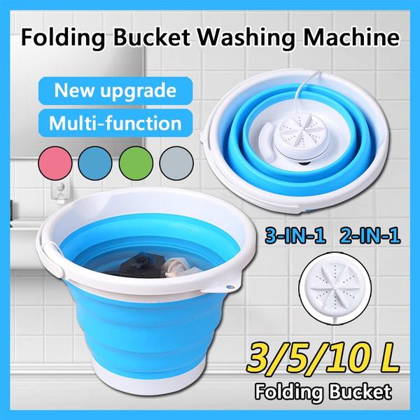 Mini, foldingwashingbucket, foldingbucket, underwearwashingmachine