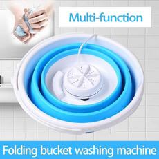 Mini, Laundry, washingmachine, foldingbucket