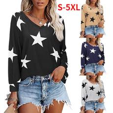 Plus Size, Long Sleeve, Plus size top, V-neck