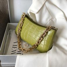 Shoulder Bags, Fashion, Chain, bag for women