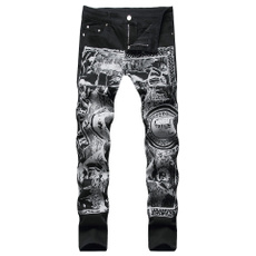 Blues, men's jeans, nightclubclothing, pants