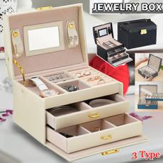 case, Box, Jewelry, Jewelry Organizer