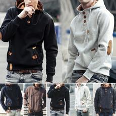 Fashion, Casual, hoodedjacket, Coat