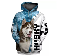 3D hoodies, collie, Fashion, Hoodies