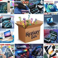 Box, Headset, Tablets, Phone