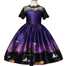 Lace, Halloween Costume, Dress, backless dress