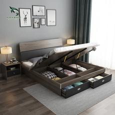 King, Hotel, bedroom, Wood