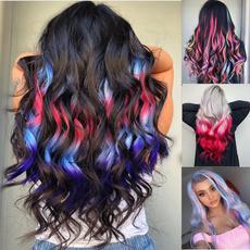 wig, rainbow, Hairpieces, colorwig