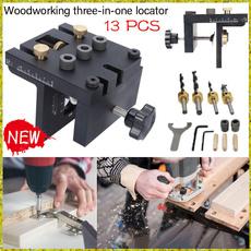 woodworkingdrillguidekit, Kit, gadget, woodworkingpositioningtool