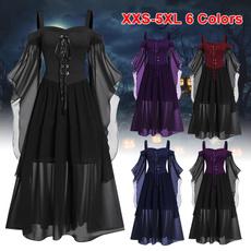 Goth, Fashion, patchworkdresse, Lace