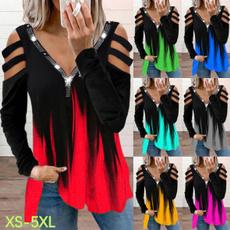 blouse, Plus Size, brightdiamond, Sleeve