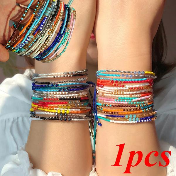 Charm Bracelet, Beaded Bracelets, Jewelry, colorfulbracelet