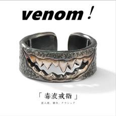 Steel, Fashion, Jewelry, 925 silver rings