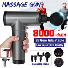 fasciagun, Electric, musclemassager, Fitness