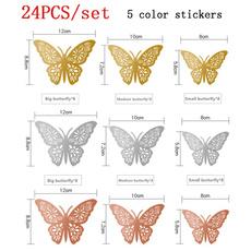 butterfly, Fashion, art, 3dwallsticker