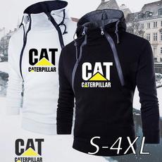 Outdoor, caterpillarhoodie, pullover sweater, slim
