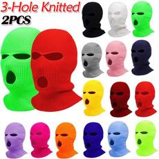 3holeknitmask, Fashion, 3holefullfacemask, Winter