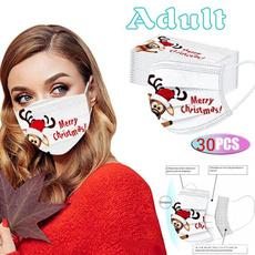 cartoonmask, Outdoor, mouthmask, Christmas
