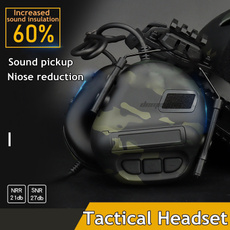 Headphones, Helmet, noisereductionearphone, Army