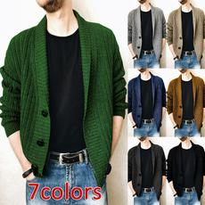 cardigan, Coat, Sweaters, V-neck