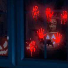 decoration, horriblesticker, windowsticker, halloweensticker