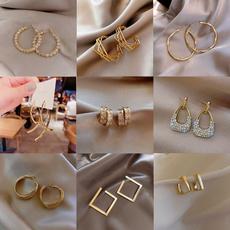 ringearring, Fashion, Beautiful Earrings, Pearl Earrings