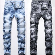 Blues, men's jeans, Fashion, Elastic