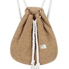 women bags, Summer, summerbeach, drawstring backpack