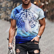 Tiger, Fashion, Summer, Tops