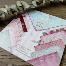 Craft, patternedpaper, Garden, printed