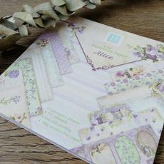Craft, patternedpaper, printed, purple