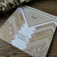 patternedpaper, Lace, printed, Handmade