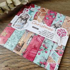 Craft, patternedpaper, printed, Christmas