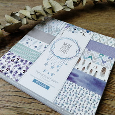 Craft, patternedpaper, Star, printed