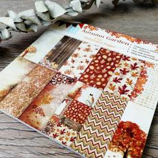patternedpaper, Garden, printed, Handmade