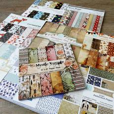 patternedpaper, printed, Mystic, handmadecraftpaper