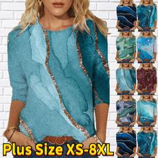 Plus Size, long sleeve dress, long sleeved shirt, Long Sleeve