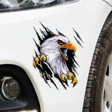 Car Sticker, Garland, Eagles, tear