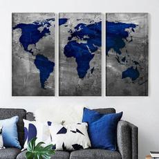 Blues, Decor, living room, Office