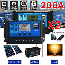 solarcontroller, Solar, solarpanel, solarladegerät