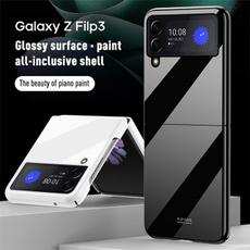 case, Plastic, foldingcase, samsunggalaxyzflip35gcase