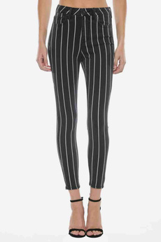 skinny jeans, Striped, Jeans
