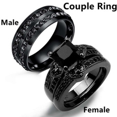 Fashion, wedding ring, Engagement Ring, stainlesssteelcouplering