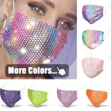 blackmouthmask, fashionmouthmask, DIAMOND, halffacemask