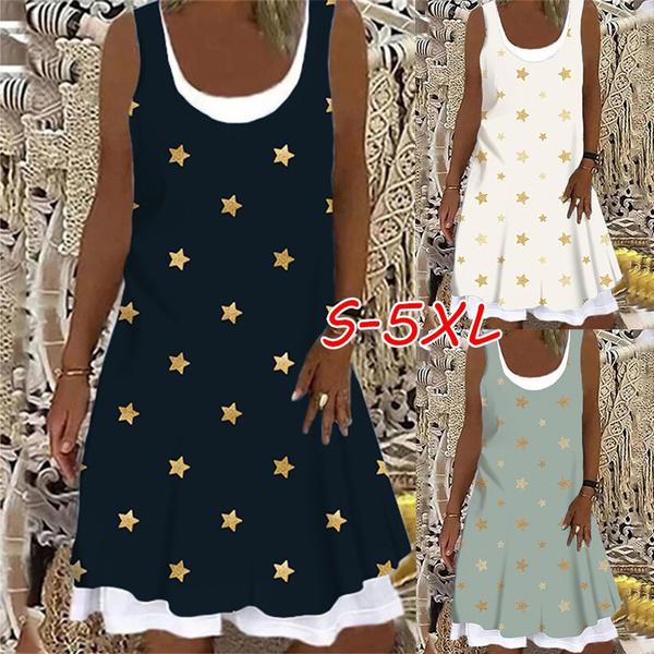 Summer, printeddres, vest dress, tankdres