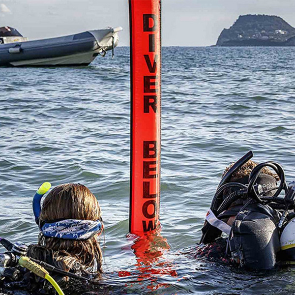 surfacemarkerbuoy, scubasnorkeling, signaltube, Inflatable