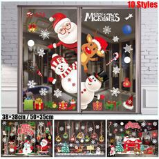 snowman, Home & Kitchen, Decor, windowsticker
