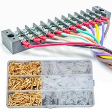 multiplecrimpterminal, wireterminal, wirecrimp, wirespadeconnector